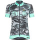 Alé Cycling Graphics PRR Camo Kortærmet cykeltrøje Damer sort/turkis